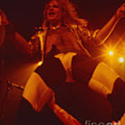David Lee Roth - Van Halen At The Oakland Coliseum 12-2-1978 Rare Unreleased Poster