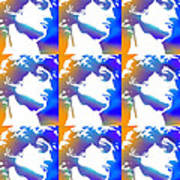 David Repeat Treatment One Color Poster