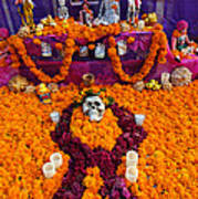 Day Of The Dead Altar, Mexico Poster