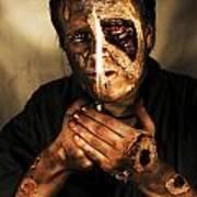 Dead Man Smoking Poster