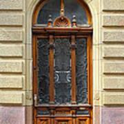 Decorative Door Poster