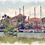 Detroit Yacht Club Poster