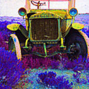 Diamond T Touring Car C.1911 Ghost Town South Pass City Wyoming 1971-2009 Poster