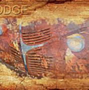 Dodge In Rust Poster