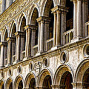 Doges Palace - Venice Italy Poster