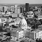 Downtown Skyline St. Paul Minnesota Poster