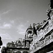 Dramatic Borobudur Poster