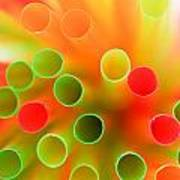 Drinking Straws Poster