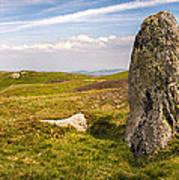 Druids Stone Circle Poster