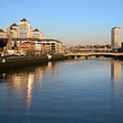 Dublin At Dawn Poster