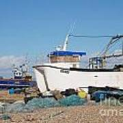 Dungeness Fishing Boats Poster