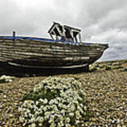 Dungeness Poster by Lesley Rigg