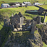 Dunluce Castle, Bushmills Poster