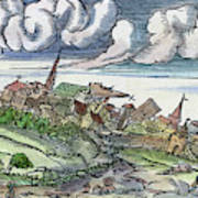 Earthquake, 1550 Poster