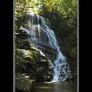 Eastatoe Falls North Carolina Poster