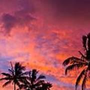 Easter Island Sunrise 2 Poster