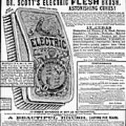 Electric Brush, 1882 Poster
