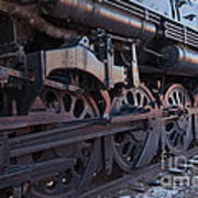 Engine 5629 In The Colorado Railroad Museum Poster