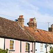 English Cottages Poster