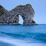 Evening At Durdle Door Poster