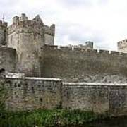 Exterior Of Cahir Castle Poster