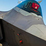 F-22 Raptor Jet Poster