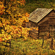 Fall At The Farm Poster