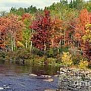 Fall At The River Poster
