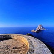 Famous Tower Of Savinar On Ibiza Island Poster