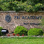 Fbi Academy Quantico Poster