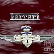 Ferrari 212 Poster