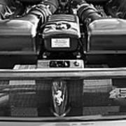 Ferrari 430 Scuderia Engine Poster