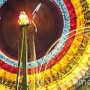 Ferris Wheel Evergreen State Fair Poster