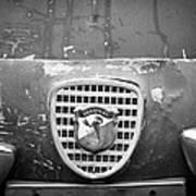 Fiat Grille Emblem Poster