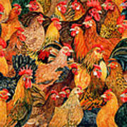 Fine Fowl Poster