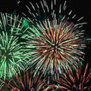 Fireworks Poster by Lester Phipps