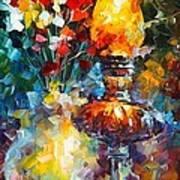 Flame Poster by Leonid Afremov