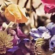 Floral Art V Poster