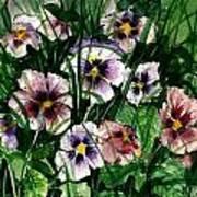 Flower Study I Poster