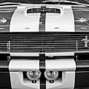 Ford Mustang Grille Emblem Poster