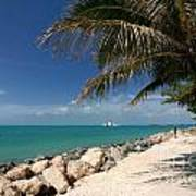 Fort Zachary Taylor Beach Poster