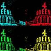 Four Queens Poster