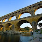 France, Avignon The Pont Du Gard Roman Poster