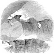 France Mont Blanc, 1851 Poster