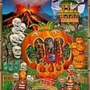 Freaky Tiki Tombs Poster