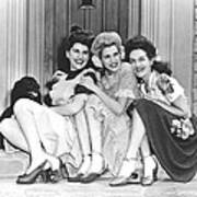 From Left, Maxene Andrews, Patty Poster