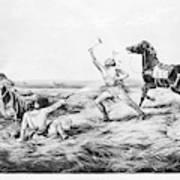 Frontiersman, 1858 Poster