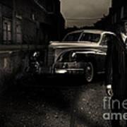 Gangster Poster by Diane Diederich