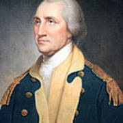 George Washington By Rembrandt Peale Poster