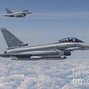 German Eurofighter Typhoon Jets Poster